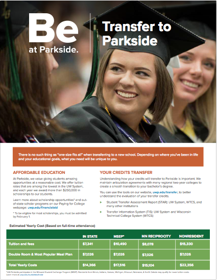 Transfer to Parkside