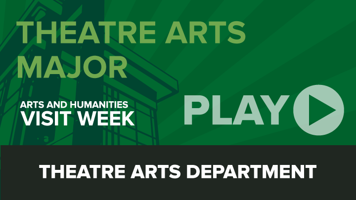 Arts and Humanities Visit Week: Theatre Arts