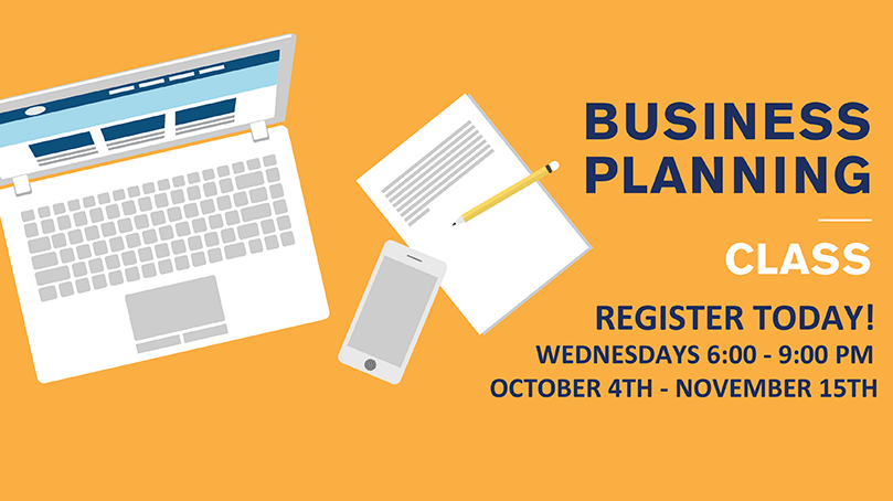 Business Planning Class - Register Today