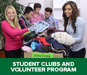 Student Clubs and Volunteer Program