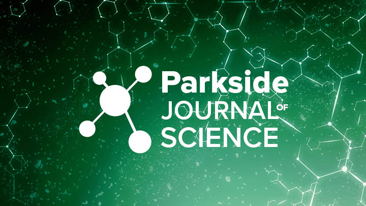 Green science cover with PJS logo