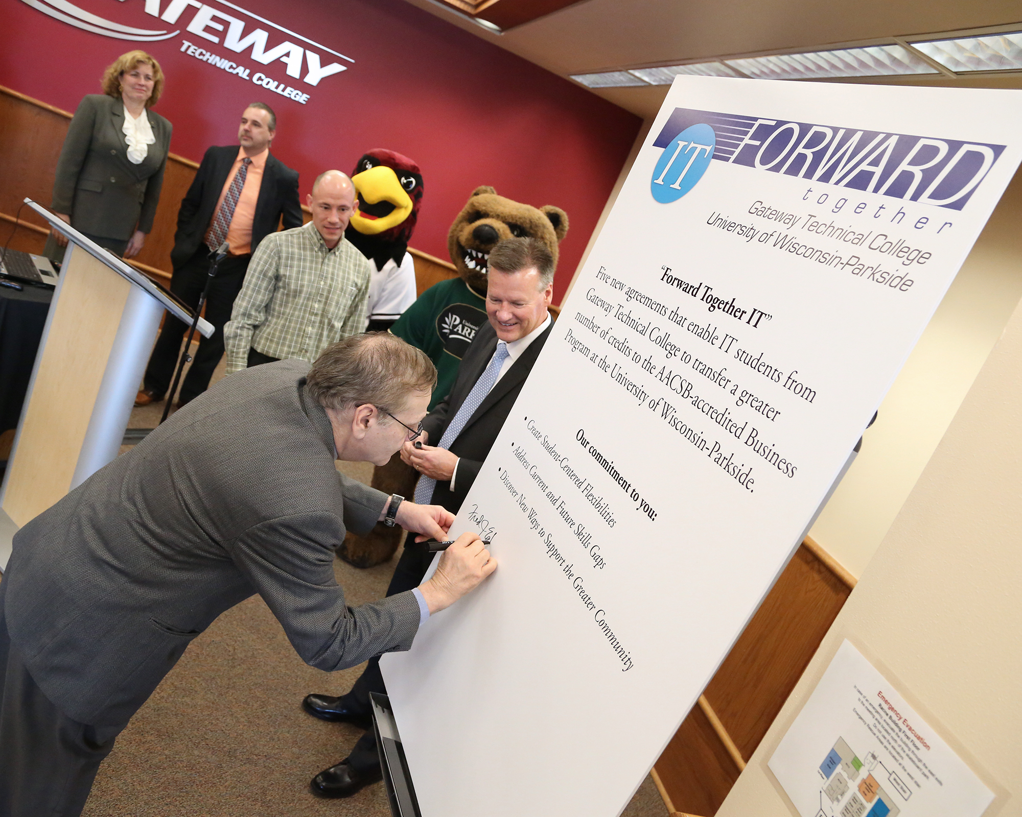 Provost signs agreement