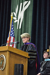Regent Millner at UWP Commencement