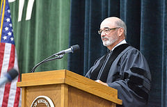 Mike Falbo at UWP 2015 Commencement