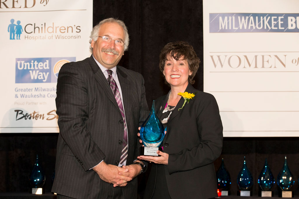Chancellor Ford Women of Influence award