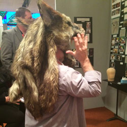 Jim-Guy-modeling-Tayler's-Wolf-headpiece