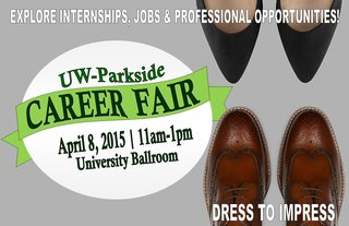 Don't miss the Career Fair!