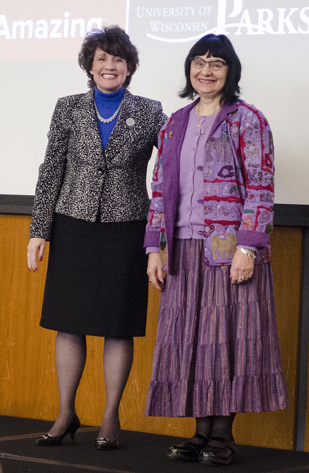 Vera Kolb at spring 2016 convocation