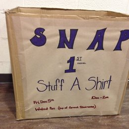 Stuff A Shirt Donation Box