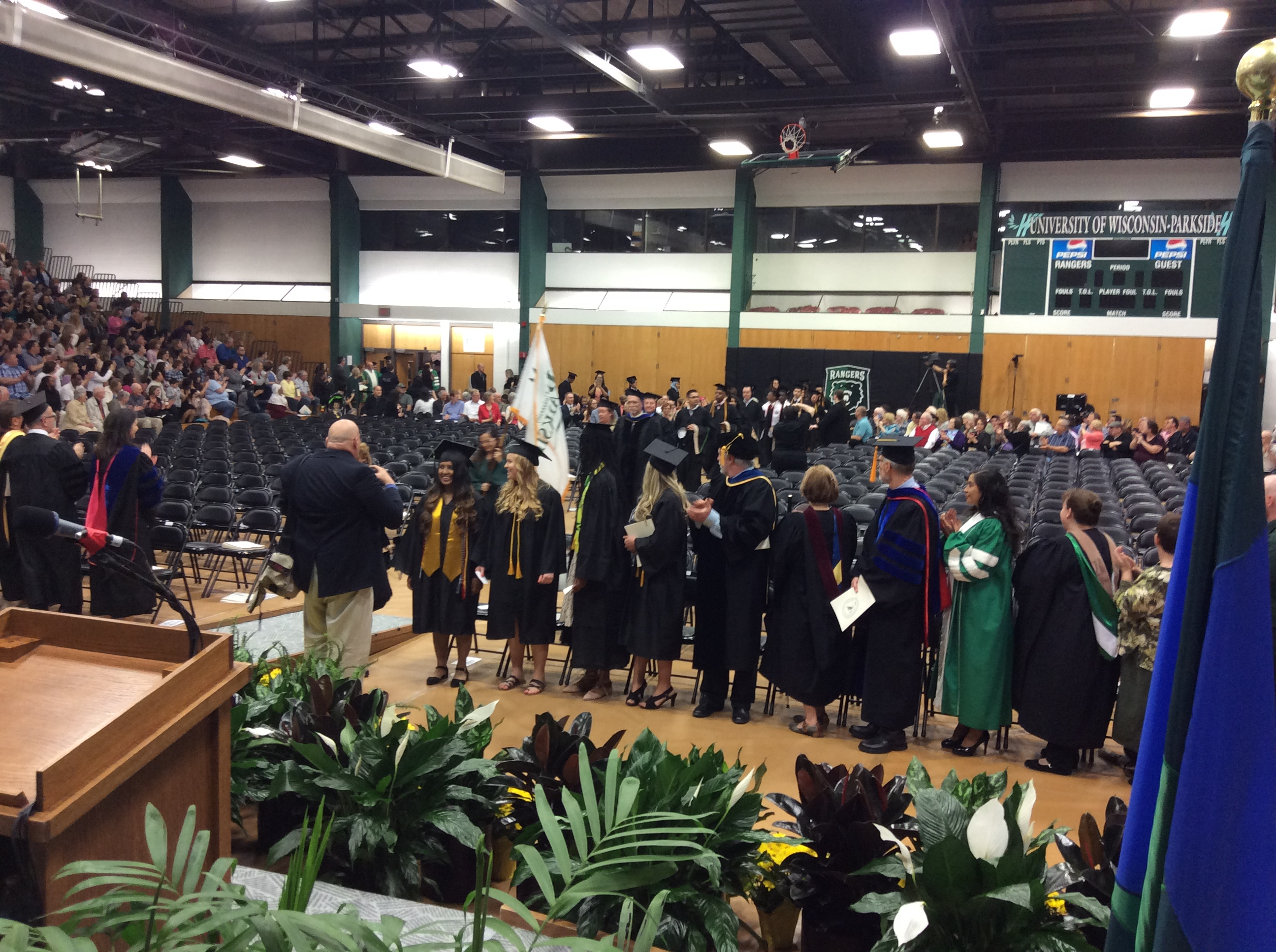 Spring 17 Commencement Opening