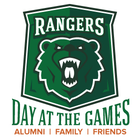 Ranger Day at the Games - athletic shield