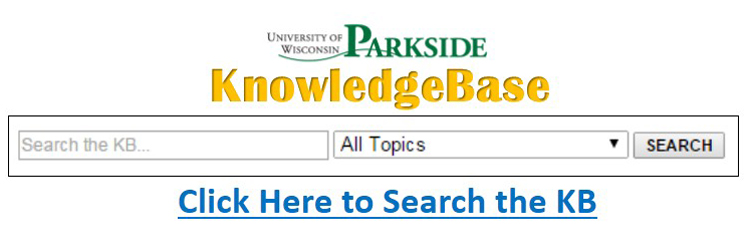 Search the KnowledgeBase(KB)