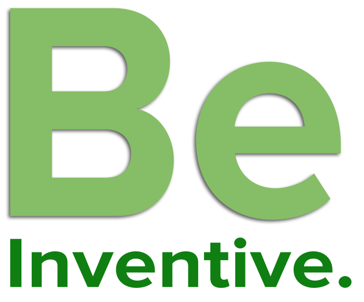 [Word Image] Be. Inventive.