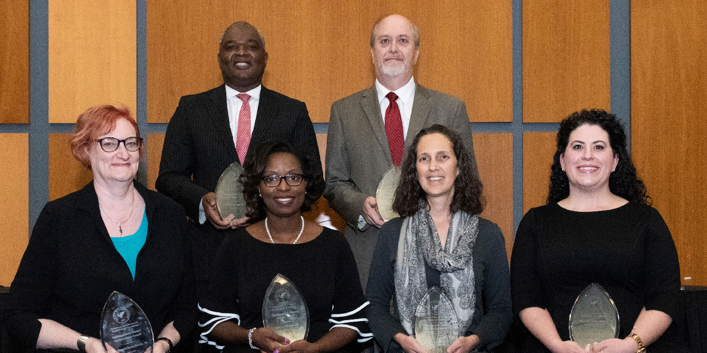 2019 Distinguished Alumni Award recipients