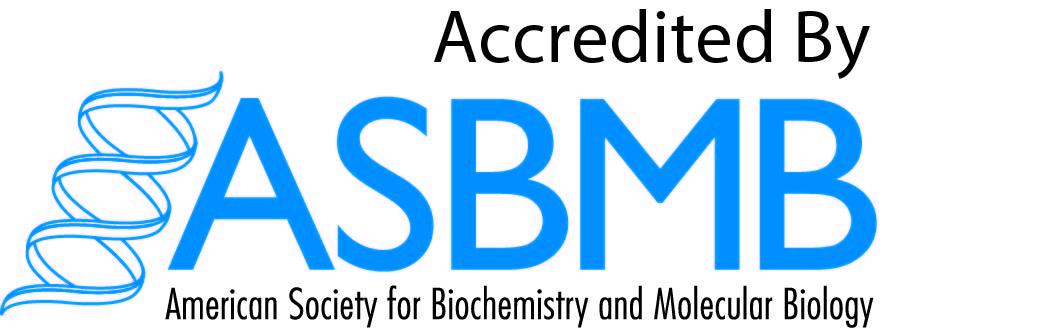 ASBMB accreditations