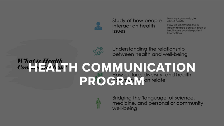 Health Communication 2020