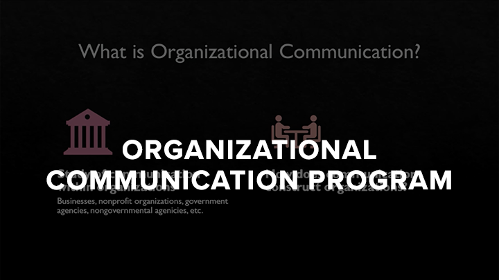 2020 Organizational Communcition