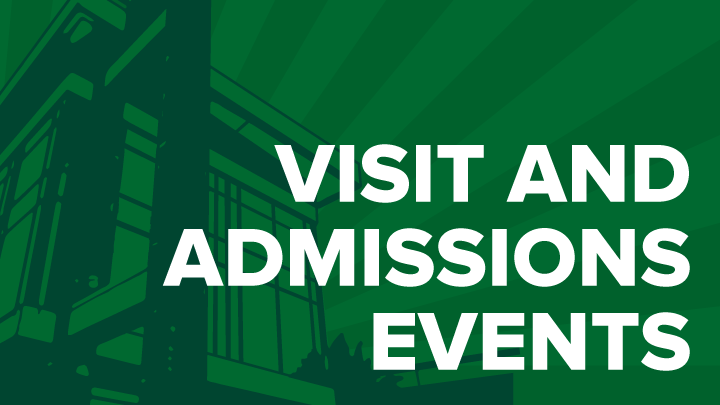 Admissions and Visit Events