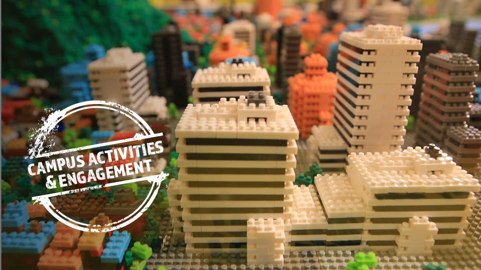 image of lego buildings