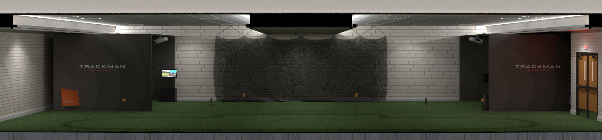 Mark Olsen Indoor Golf Center Rendering 01