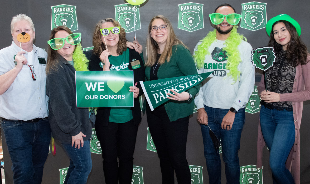 Heather McGee and Linda Bevec and other Parkside staff