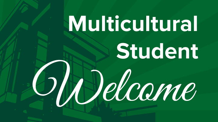 Multicultural student welcome