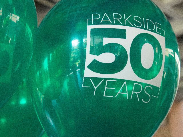 Parkside 50 years balloon