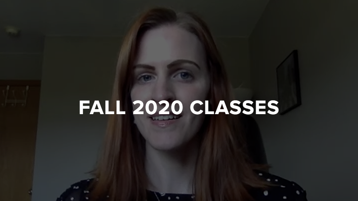 2020 Fall Classes Rache