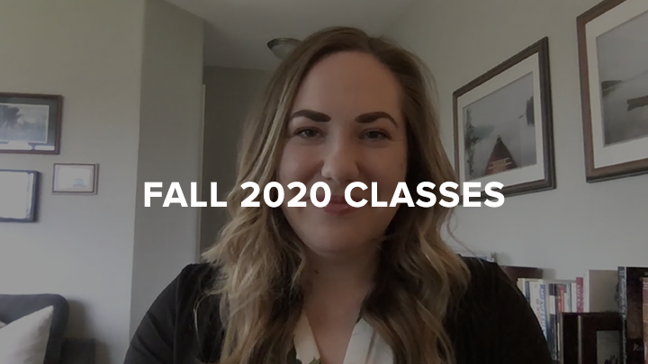 2020 Fall Classes Hilary Rasmussen