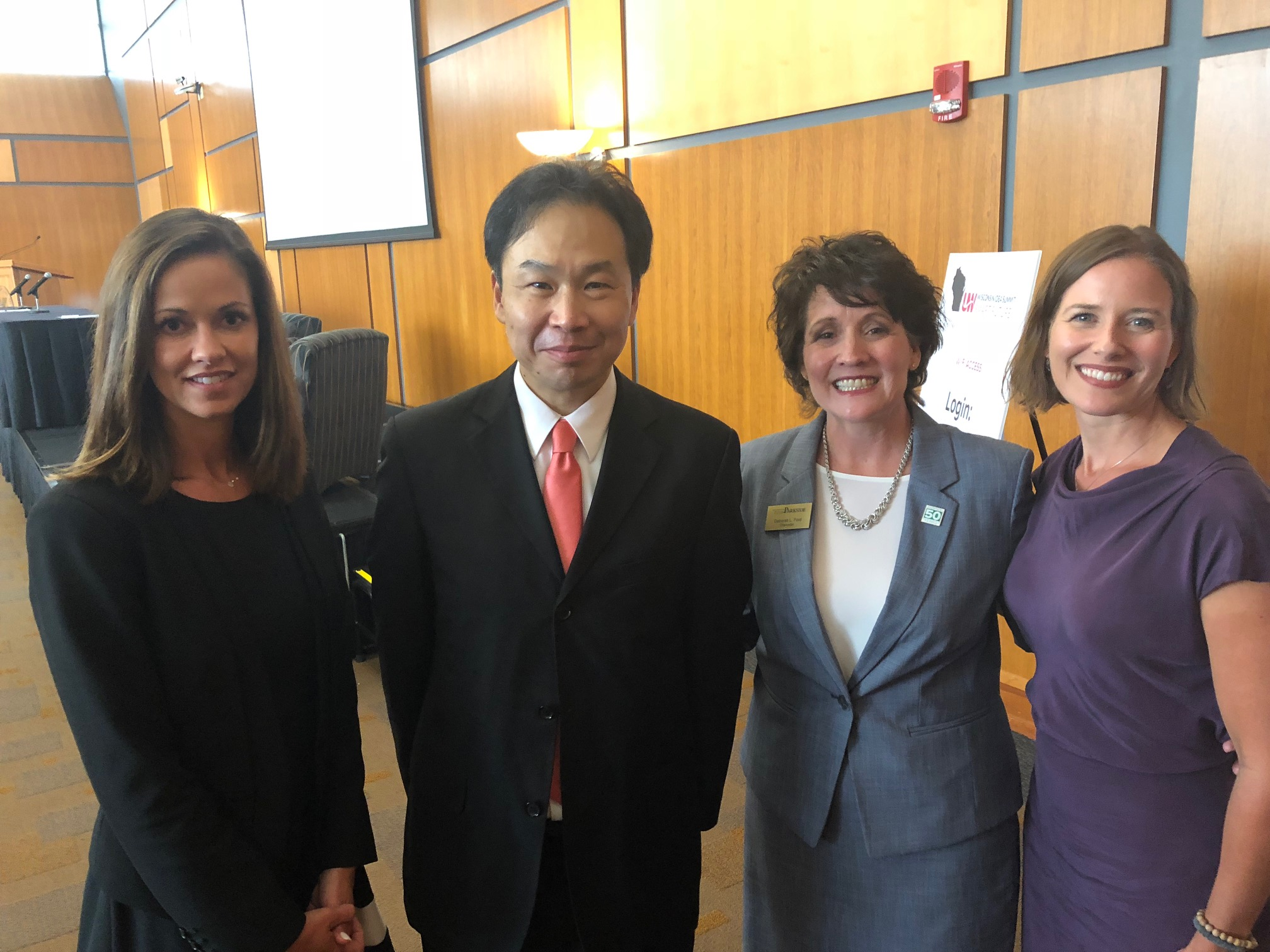 Lisa Roy, Alan Yeung, Debbie Ford, Chelsea Collier