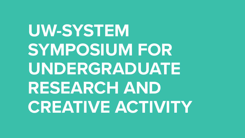 Symposium for Undergraduate Research and creative activity