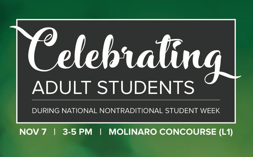 Celebrating Adults Students