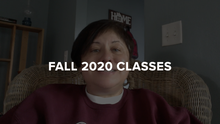 2020 Fall Classes Viramontes