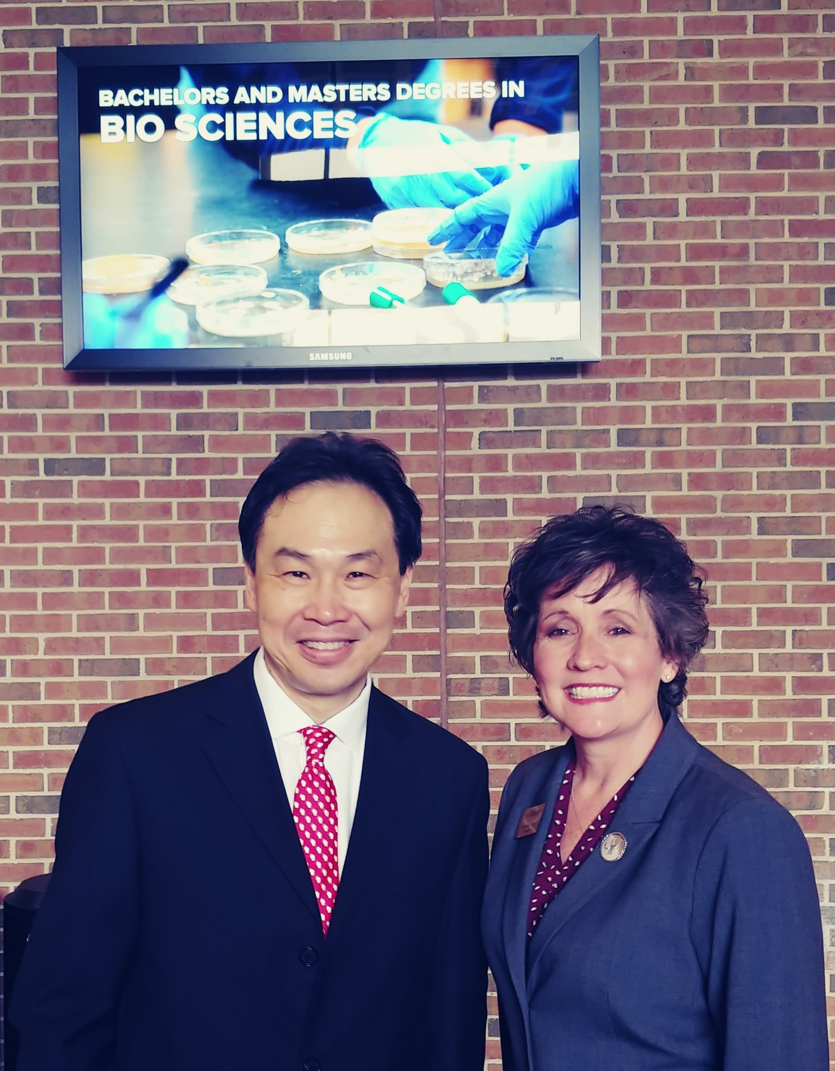 Alan Yeung, Foxconn; Debbie Ford, UW-Parkside