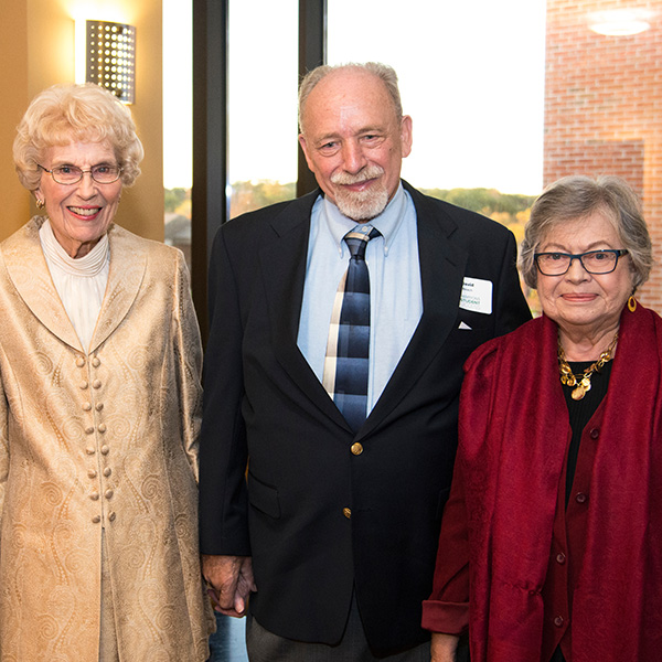 David Beach, Carmen Rigau, and Frances Bedford