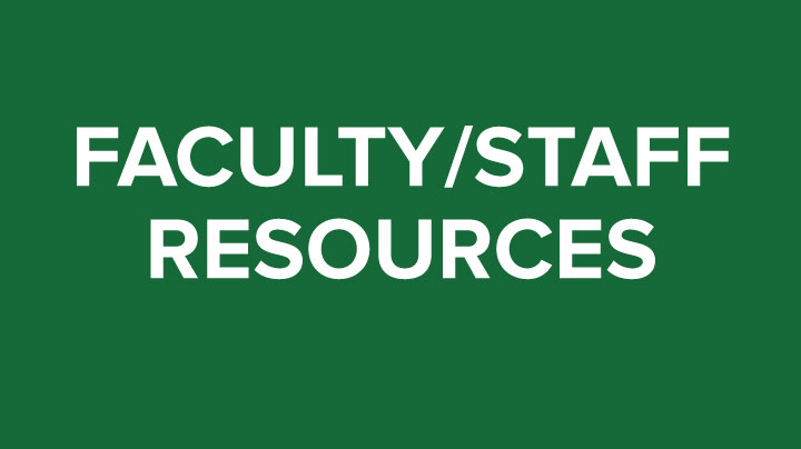 Faculty Staff Resources