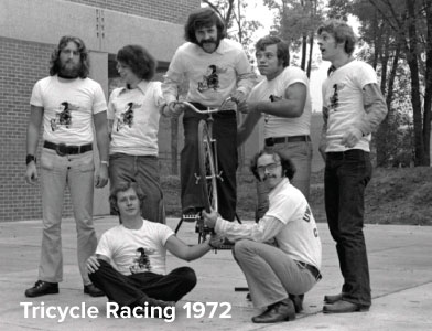 Tricycle Racing 1972