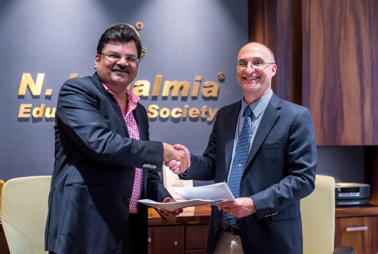 Dean Baldwin at N L Dalmia Institute, Mumbai
