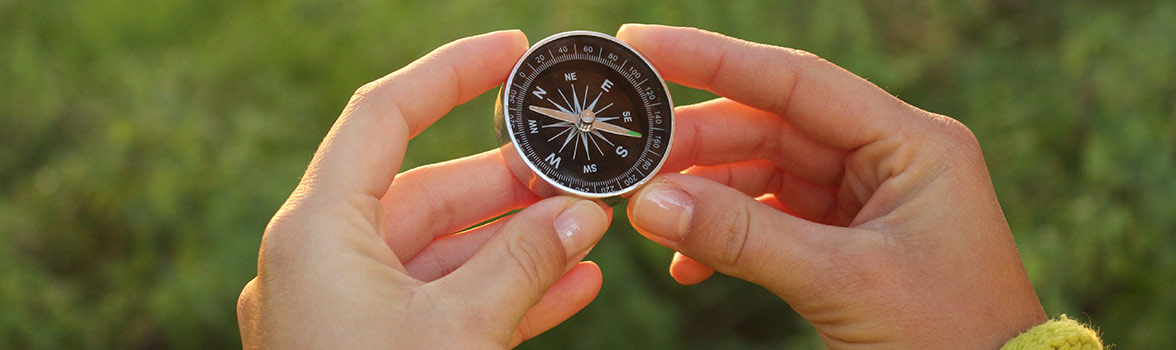 Compass for guidence