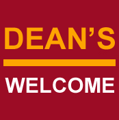 Dean's Welcome