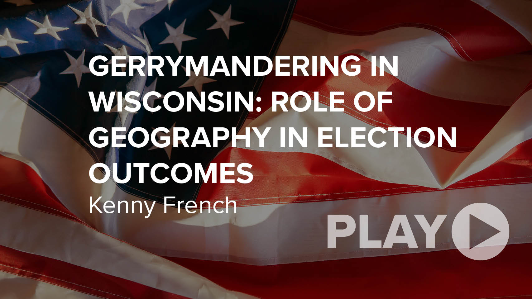 Gerrymandering in Wisconsin: Role of Geography in Election Outcomes