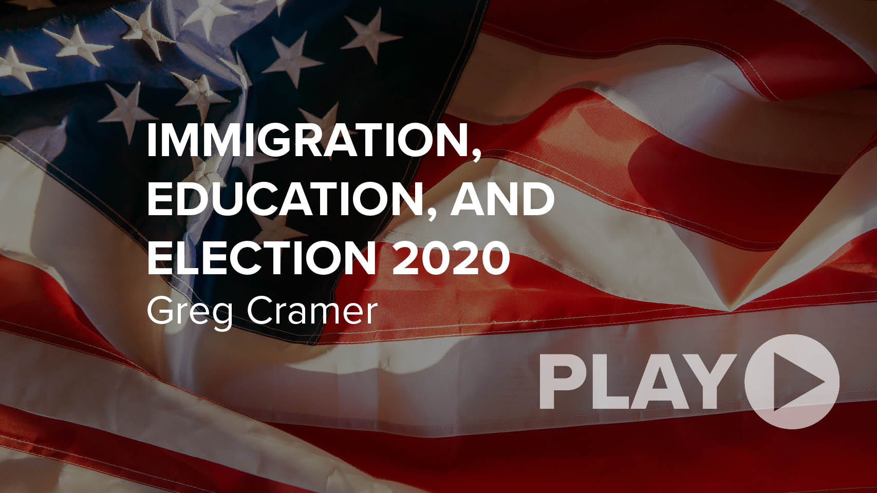 Immigration, Education, and Election 2020