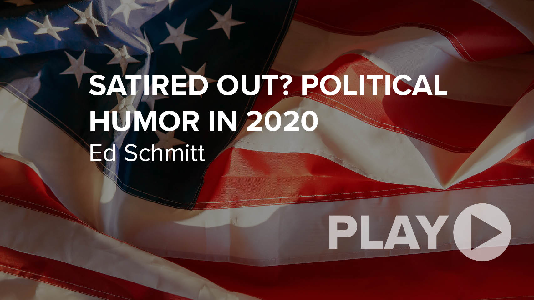Satired Out? Political Humor in 2020