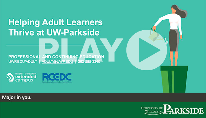 Helping Adult Learners Thrive at UW-Parkside