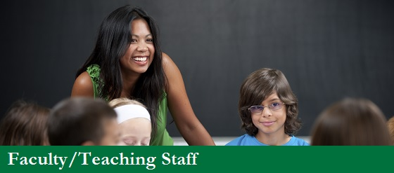 UW-Parkside IPED faculty and teaching staff image link, teacher with smiling student