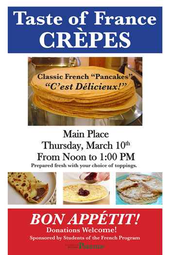 Crepe Day March 2016