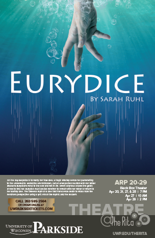 Eurydice small show poster