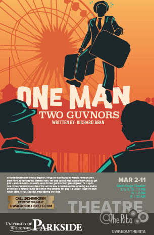 One Man Two Guvnors small show poster