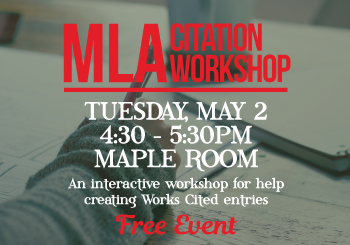 MLA Citation Workshop