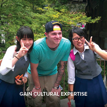 Gain cultural expertise